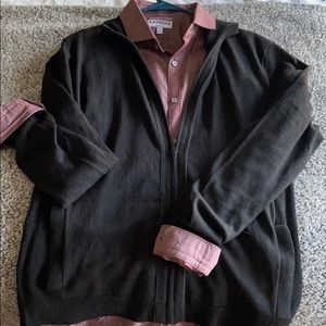 Men's Calvin Klein zip up cardigan